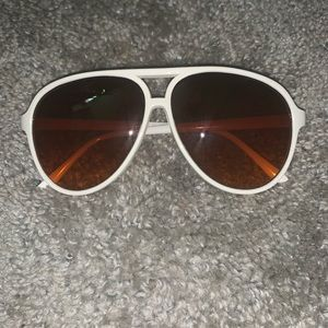 Accessories - Brown and white sunglasses